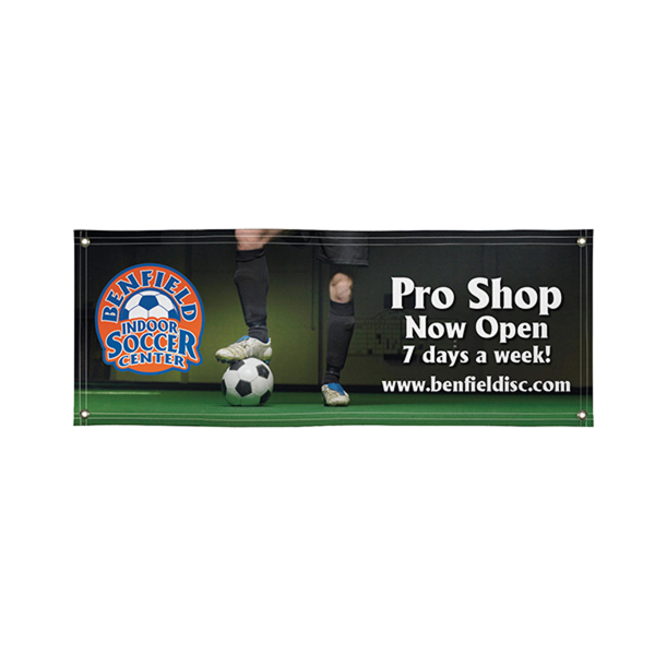 Customized Super Poly Knit Single-Sided Fabric Banner