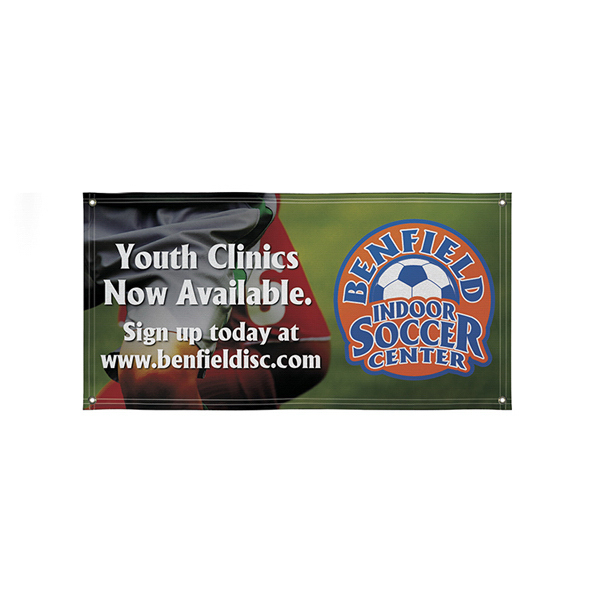Personalized Super Poly Knit Single-Sided Fabric Banner
