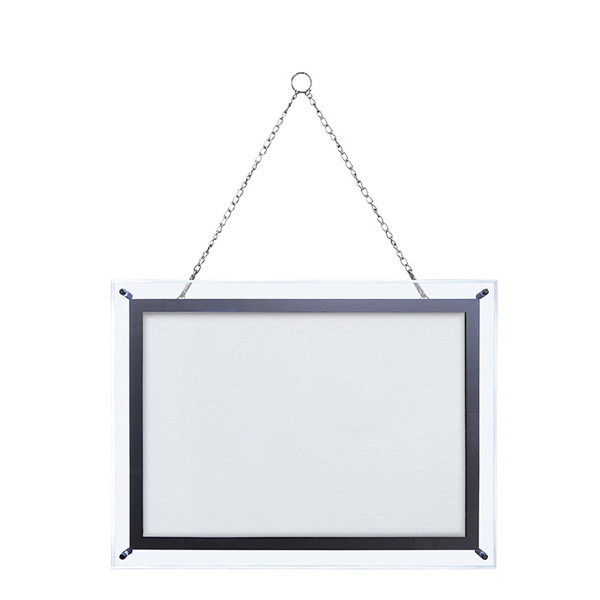 Custom 25-inch x 31-inch Crystal Edge Light Box Hardware Only