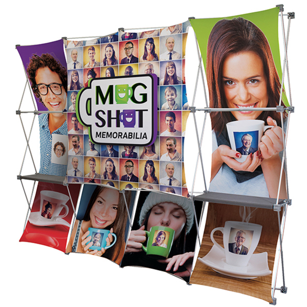 Personalized Deluxe GeoMetrix Pop-Up Display Kit