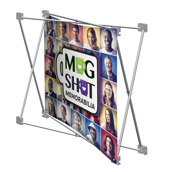 Customized Deluxe GeoMetrix Pop-Up Display Graphics Only