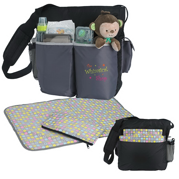 Printed Tot Diaper Bag