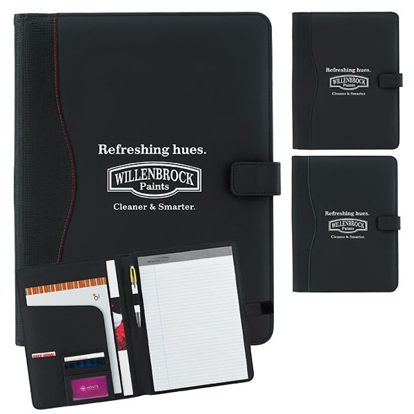 Imprinted Spine Padfolio