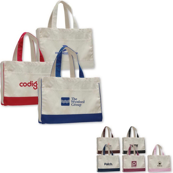 Printed Canvas Standard Tote Bag