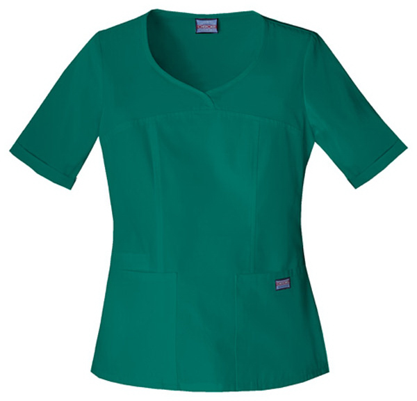 Custom SA4746 Cherokee Novelty V-Neck Scrub Top