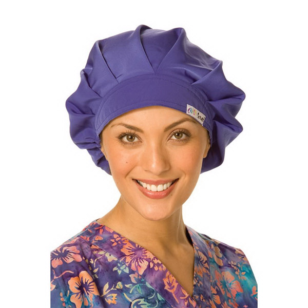 Printed Women's Poly/Cotton Scrub Hat
