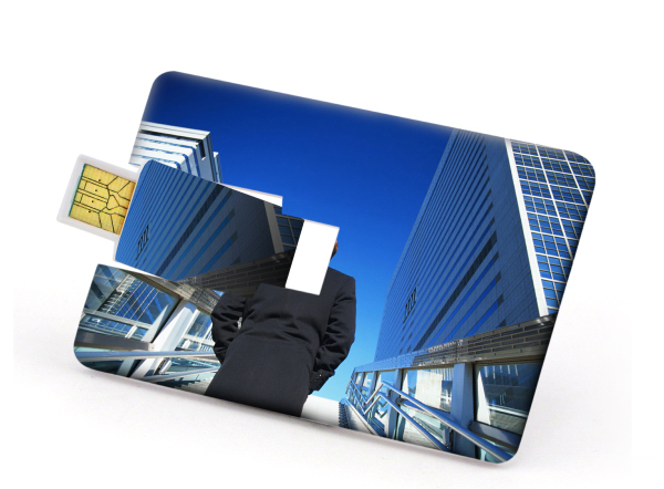Customized Card USB Drive 400 Global Saver