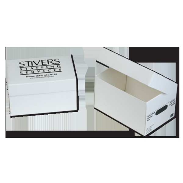 Imprinted Mini Shoe Box