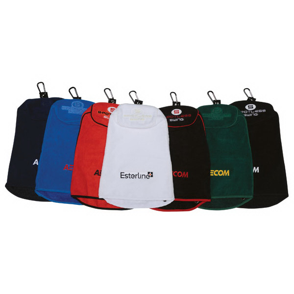 Promotional Spotless Swing (R) Premium Multi-Use Golf Towel