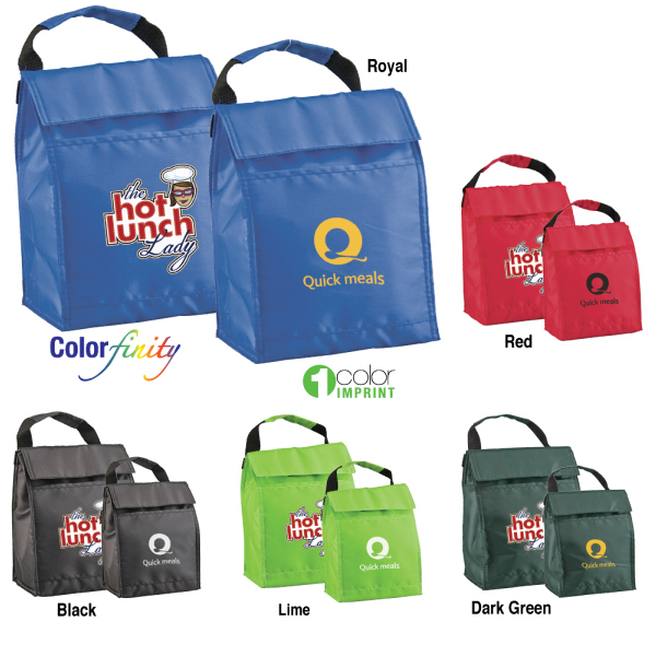 Lunch pack cooler bag