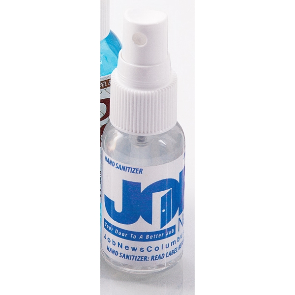 Spray Bottle Hand Sanitizer 1 oz
