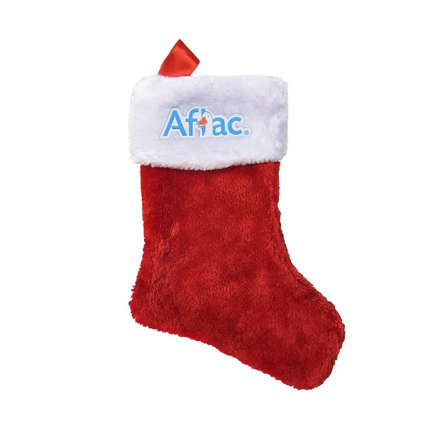 Printed Holiday Christmas Stocking