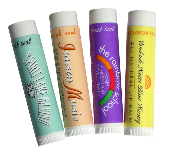 Personalized All Natural Tropical Lip Balm