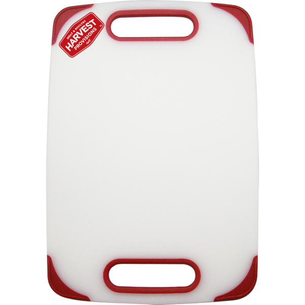Plastic Cutting Board with Non Slip Edges
