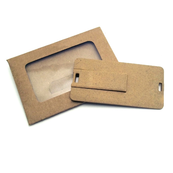Eco Friendly Plastic Card USB Drive