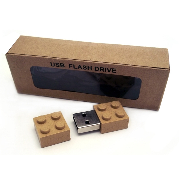 Eco Friendly Plastic Building Block USB Drive