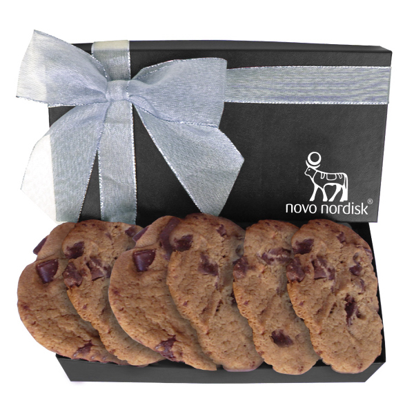 The Executive Cookie Box with Chocolate Chip Cookies