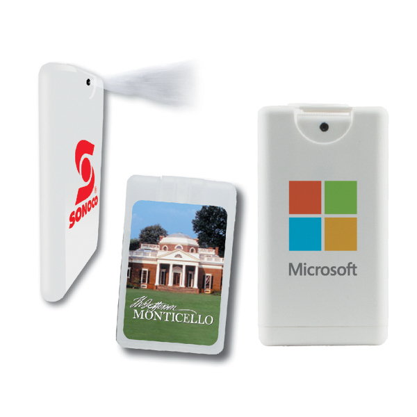 Personalized Credit Card Antibacterial Hand Sanitizer Sprayer