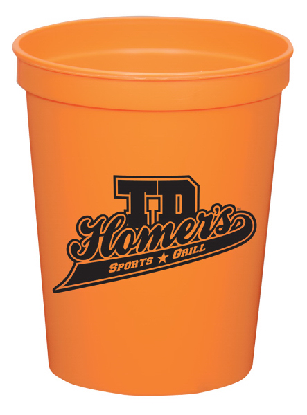 16oz Stadium Cup cup (squat) - 21 available colors