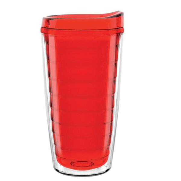 "16 oz. ""Shelby"" Double Wall Tumbler w/Colored Liner"
