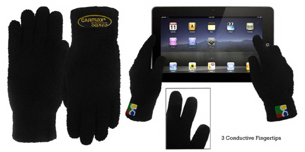 Fuzzy Text-Touch Screen Glove