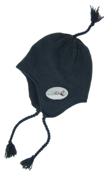 Knit Cap with Earflaps