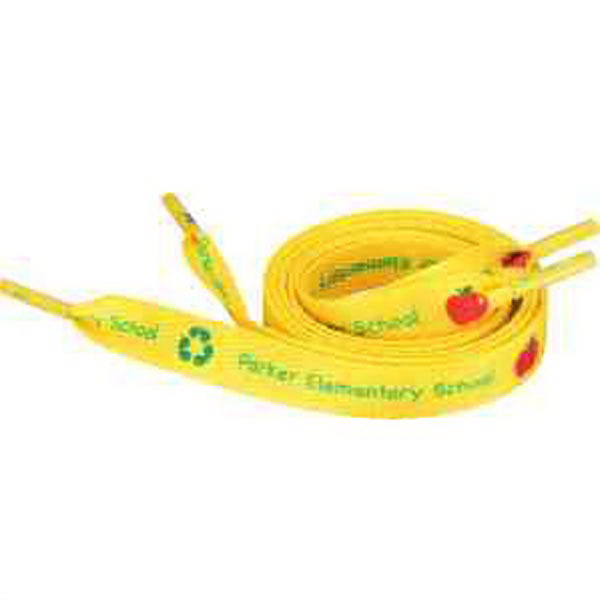 "Recycled Shoelaces - 1/2""W x 36""L"