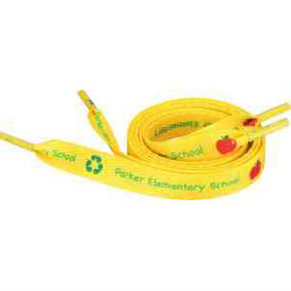 "Recycled Shoelaces - 1/2""W x 40""L"