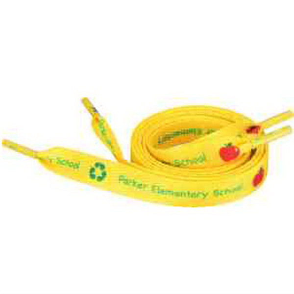 "Recycled Shoelaces - 1/2""W x 45""L"