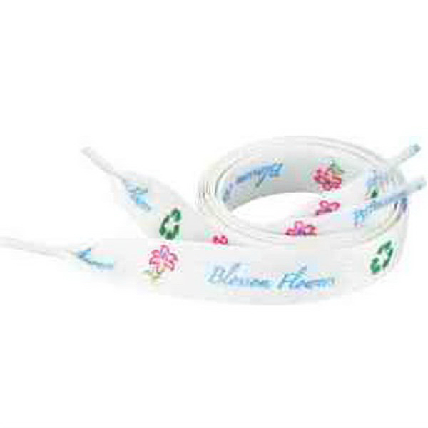 """Recycled Shoelaces - 3/4""""W x 64""""L"""
