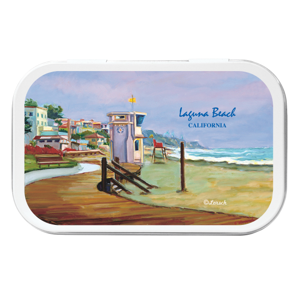 Promotional Beach Necessities Tin - Beach Kit