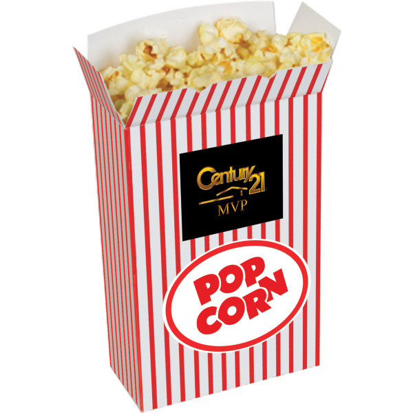 Popcorn Box - rectangle shaped box