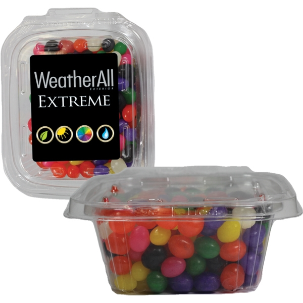 Square Safe-T Fresh Container With Candy Jelly Beans