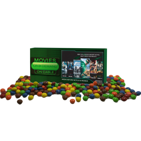 Movie Candy Box filled with Chocolate Littles