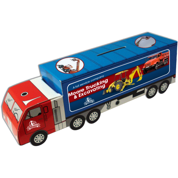 Promotional Mack Truck Bank - Custom Designed