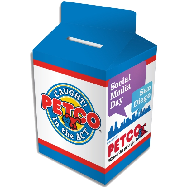 Customized Milk Carton Bank - Custom Designed
