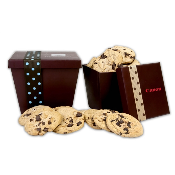 Printed Large Tapered Cookie Box