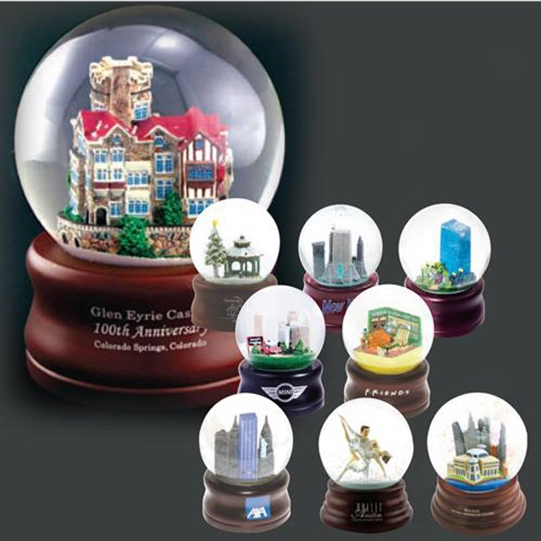 Custom polyester water globes