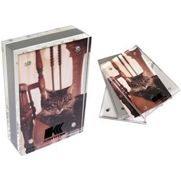 "5 1/4"" x 3 1/2"" magnetic acrylic photo frame"