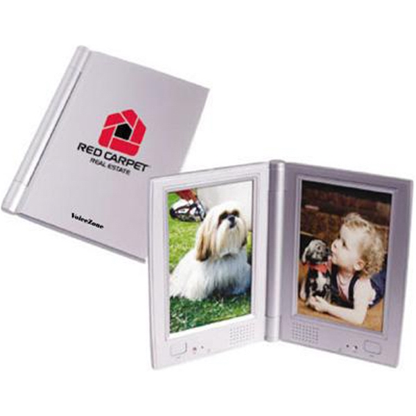 "Dual recording/talking 4"" x 6"" photo frame"