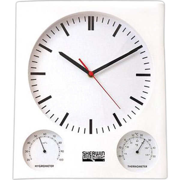 Wall clock/thermometer/hygrometer