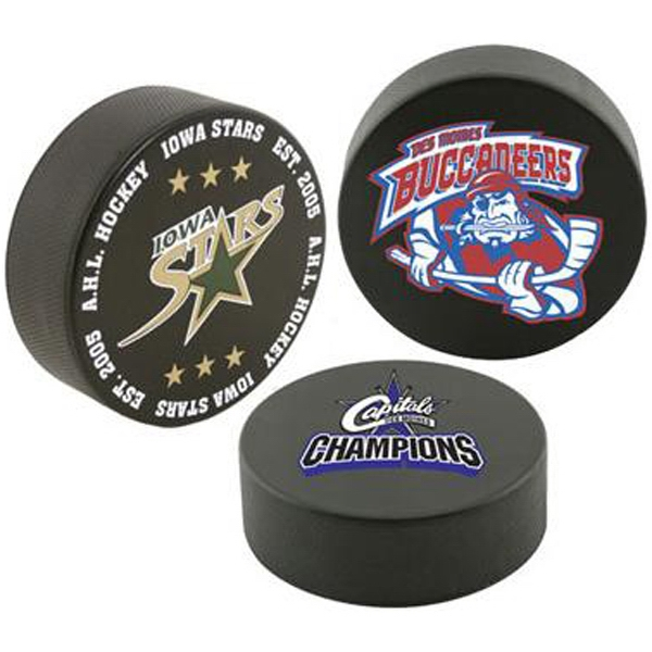 Official sized hockey puck