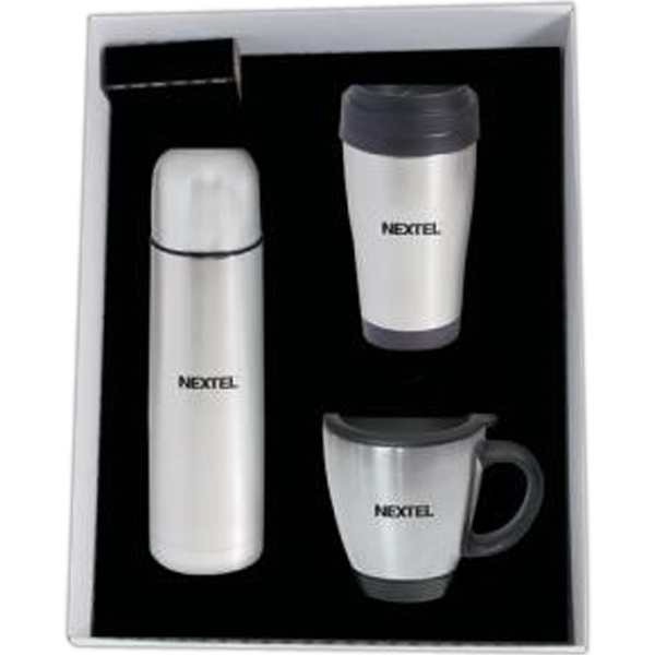 17 oz (.50 liter) stainless steel vacuum insulated bottle