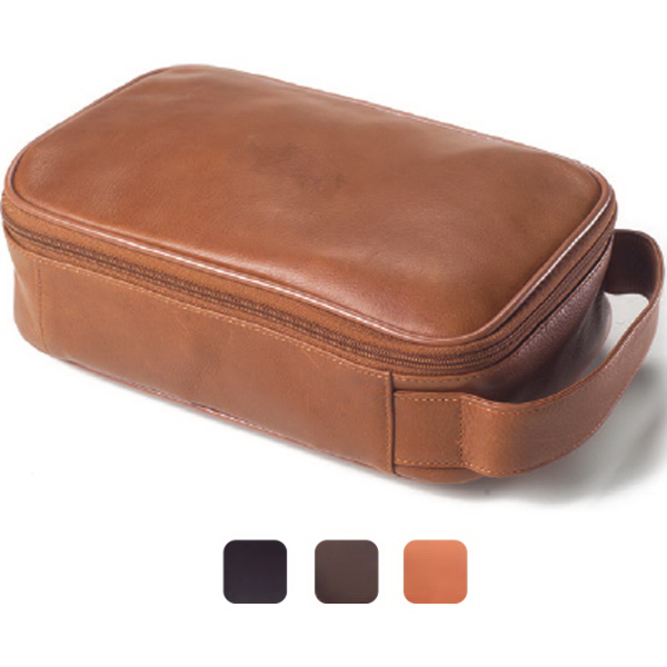 Customized Tuscan toiletry case