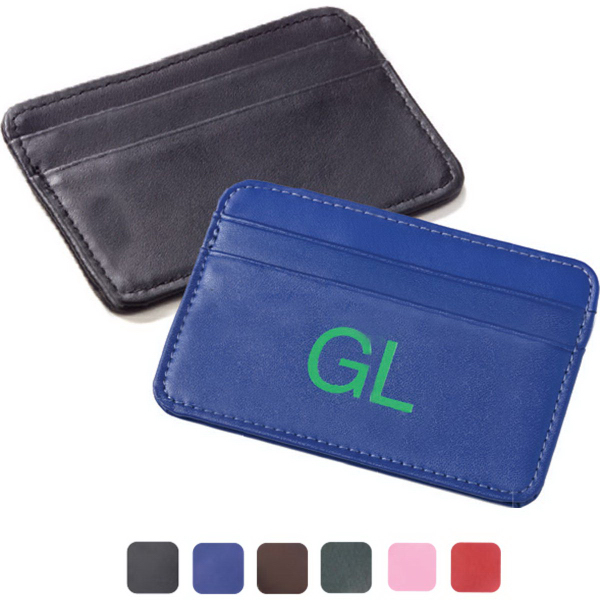 Slim Two Pocket Card Case