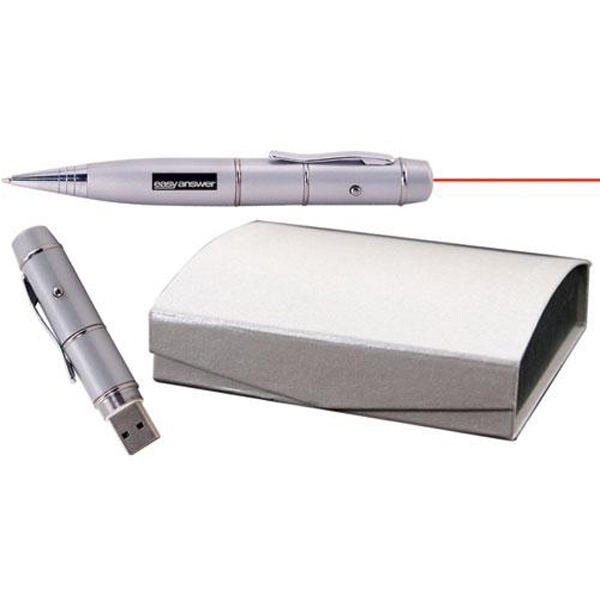 Laser pointer USB flash drive pen