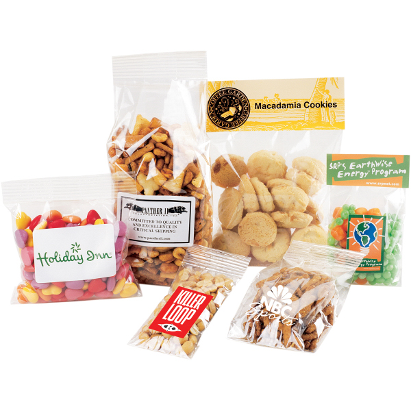 1oz Cello Bag Filled with choice of Candy or Nuts Category 4