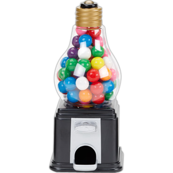 Light Bulb Shape Candy Dispenser with Jelly Beans