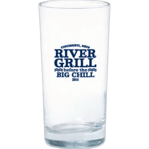 Clear Glass tumbler with heavy bottom