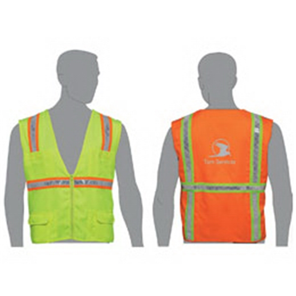 Printed Traditional surveyor safety vest